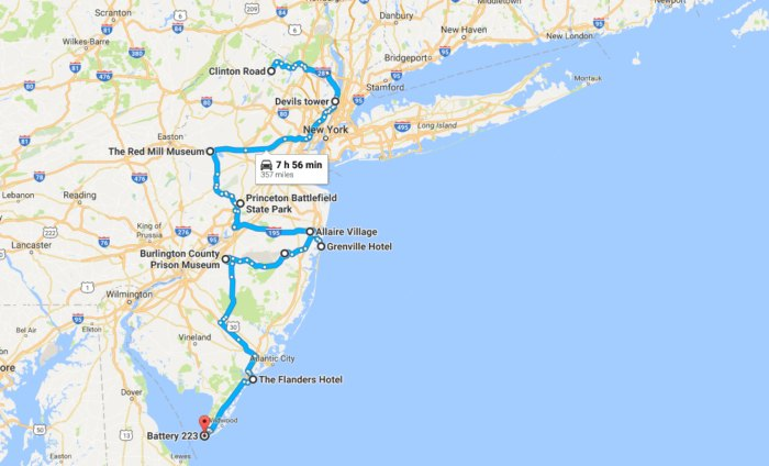 Take This Road Trip Of Haunted Places In New Jersey