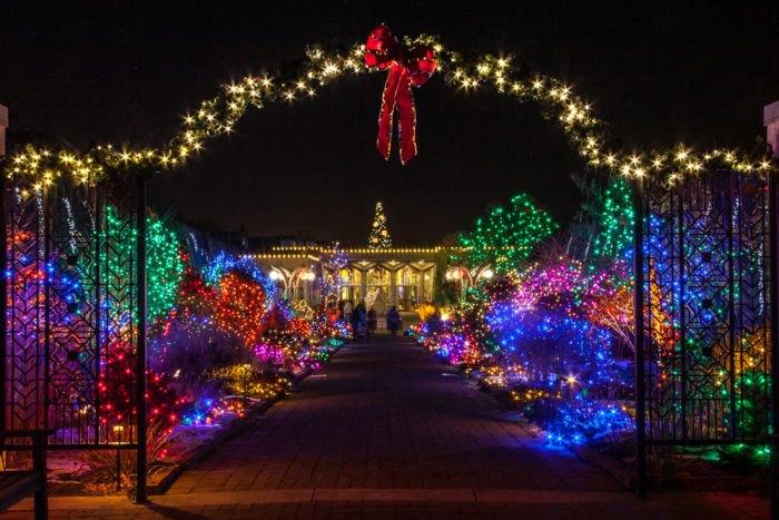 Christmas Light Displays In Denver