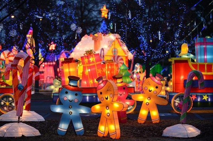 Cal Expo Christmas Lights.6 Best Christmas Light Displays In Northern California In 2016