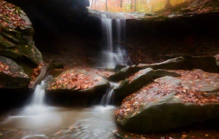 Waterfalls Cleveland Blue Hen