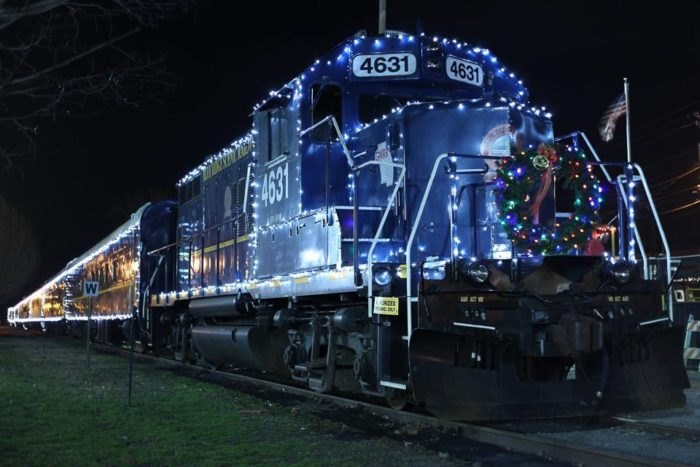 Christmas Train Ride Nj.Take The Most Magical Polar Express Train Ride In Georgia