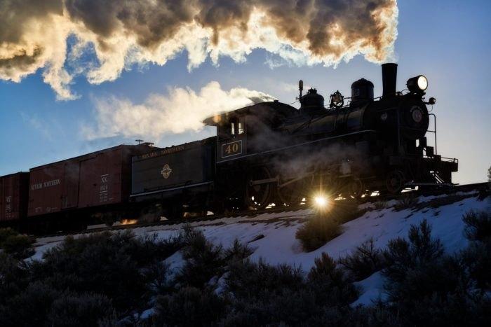 Northern Nevada Railway Polar Express