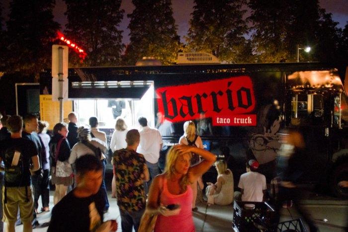 Barrio food trucks