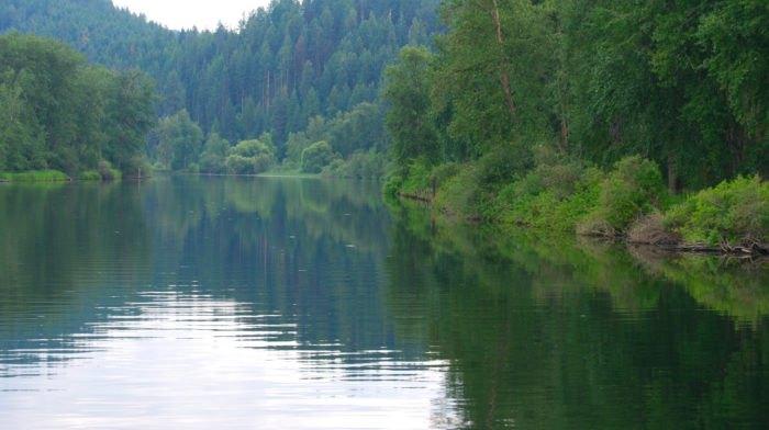 The St. Joe River, Idaho