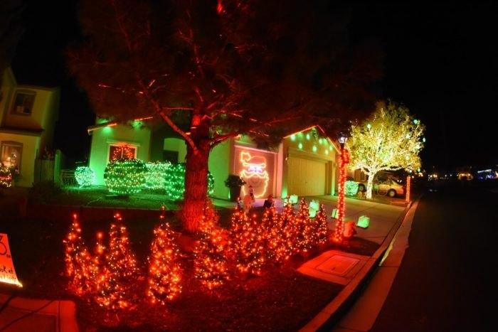 Sin City Holiday Lights