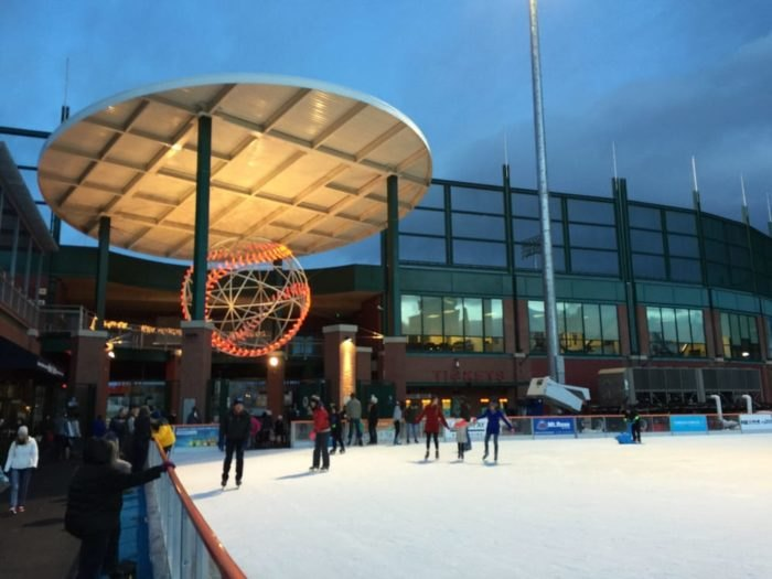 Ice Rink At Aces Ballpark