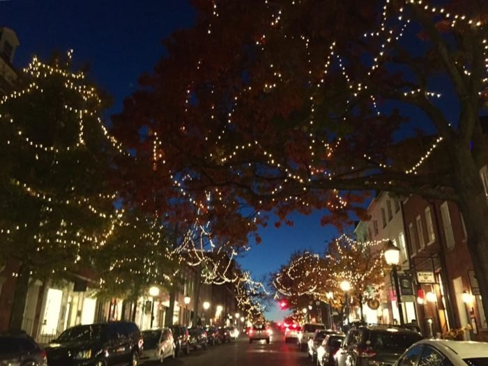 Christmas In Dc.13 Best Christmas Towns Near Washington Dc 2016