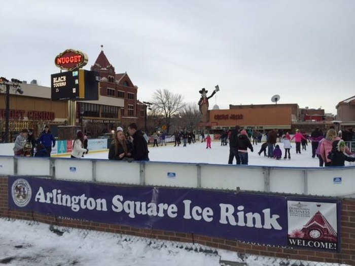 Arlington Square Ice Rink