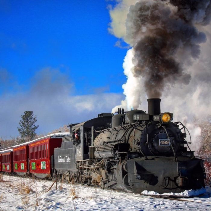 The Christmas Train.Take A Christmas Train Ride On The Cumbres And Toltec Scenic