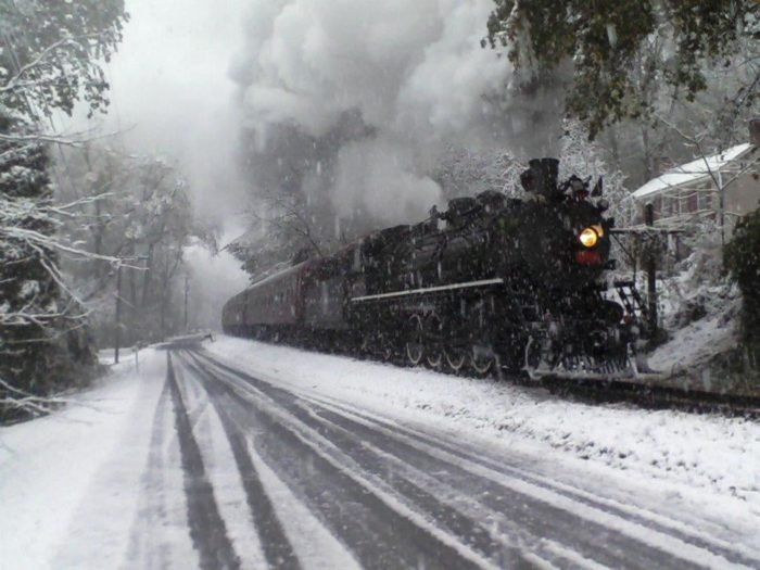 Christmas Train Ride Nj.Take This Christmas Polar Express Train Ride In New Jersey