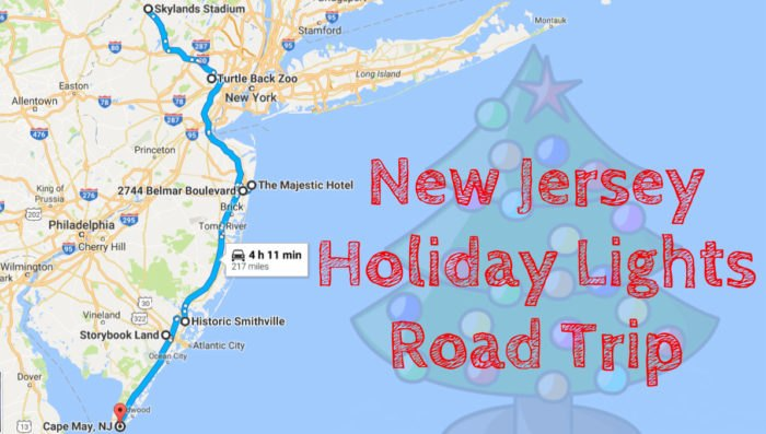 New Jersey Christmas And Holiday Lights Road Trip 2016 on
