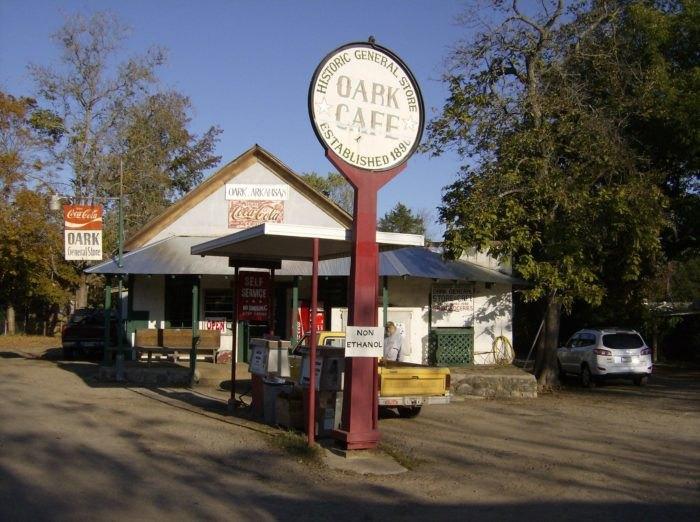 Oark General Store Is The Oldest General Store In Arkansas
