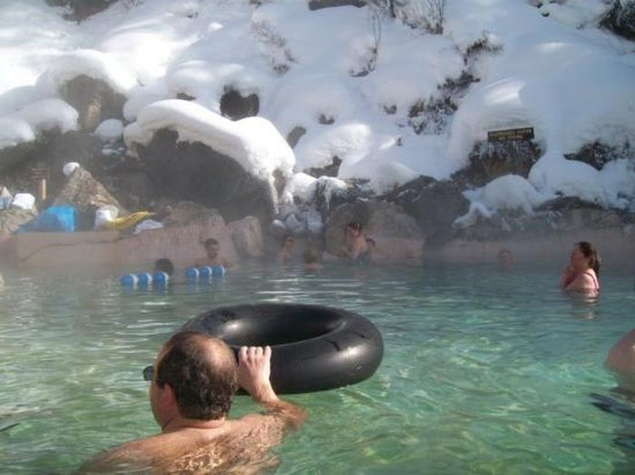 Granite Hot Springs In Wyoming Is Everything You Need For Winter