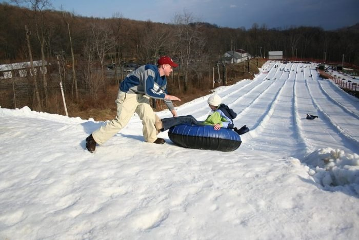 Good places to go tubing near me