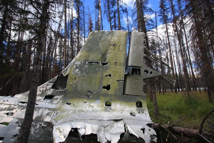 B-23 Dragon Bomber Plane Crash Site - McCall, Idaho