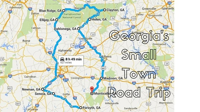 10 Unforgettable Road Trips to Take in Georgia Before You on georgia mountains map, georgia railroad map, north georgia map, ga map, georgia topographic map, columbus georgia map, georgia world map, georgia country, georgia regions map, georgia counties map, atlanta map, republic of georgia map, printable georgia map, georgia hwy map, georgia maps big print out, georgia's map, georgia mall map, georgia county map with cities, georgia street map, georgia interstate map,