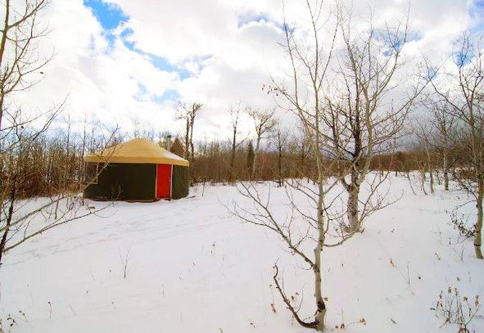 Idaho Backcountry and Luxury Yurts