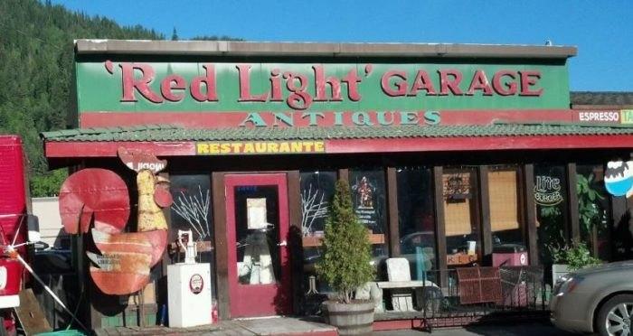 Red Light Garage: the Quirkiest Restaurant in Idaho