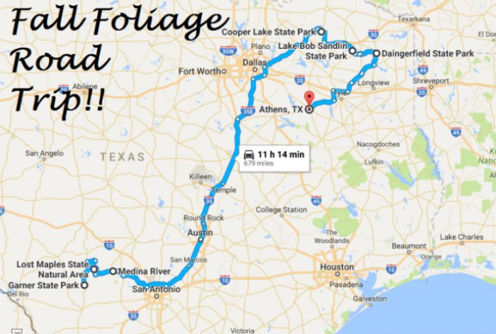 State Of Texas Road Map.16 Amazing Unforgettable Texas Road Trips To Take
