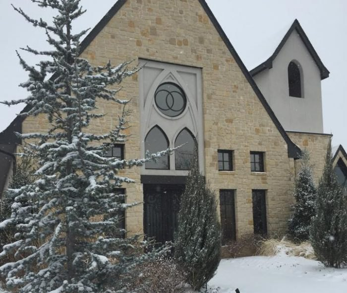 The Chapel In Oklahoma That's Located In The Most
