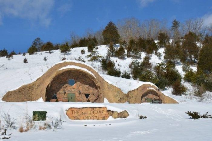 Visit the White Sulphur Springs Salt Cave For A Unique Healing