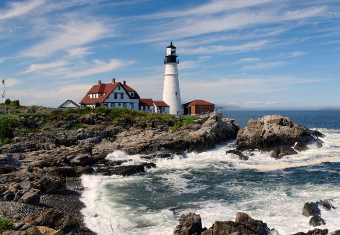 Outstanding The Lighthouse Road Trip On The Maine Coast Thats Dreamily Download Free Architecture Designs Rallybritishbridgeorg