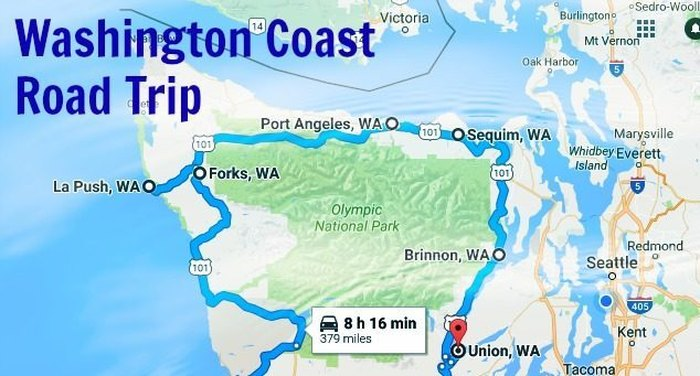 Take This Epic Road Trip Along The Washington Coast