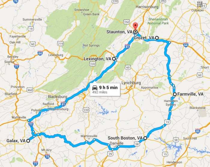 9 Of The Best Road Trips To Take In Virginia Before You Die