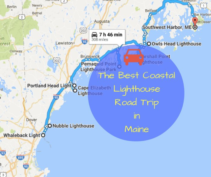 The Lighthouse Road Trip On The Maine Coast That's Dreamily ... on driving map massachusetts, driving map nevada, driving map ohio, home of maine, detailed map maine, hwy map maine, cities in maine, museums of maine, schools of maine, driving map ireland, driving map florida, driving map rhode island,