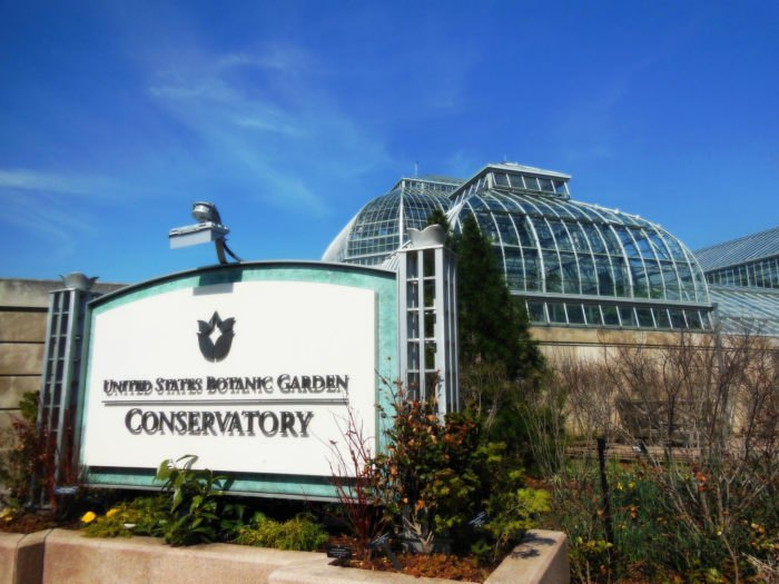 Washington DC's Botanic Garden Is The Oldest Public Garden