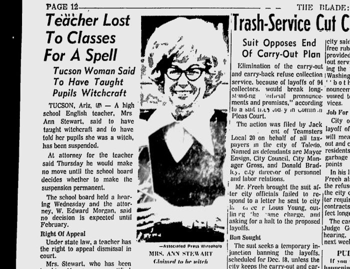 Arizona Had It's Own Witch Trial Less Than 50 Years Ago