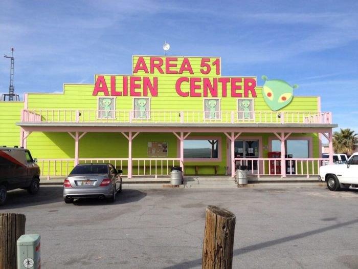 Area 51 Alien Center and Area 51 Alien Cathouse (Amargosa Valley)