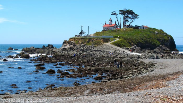 The Battery Point Lighthouse In Northern California Is One