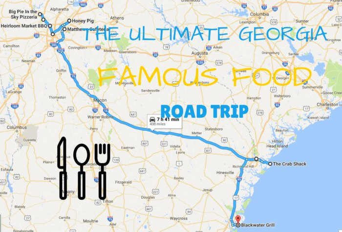 The Ultimate Famous Food Road Trip Through Georgia Will Make ... on guy diners and dives, diners and dives locations in hawaii, drivers diners and dives, car drivers drive-ins dives, 13 gypsies jacksonville diners and dives,