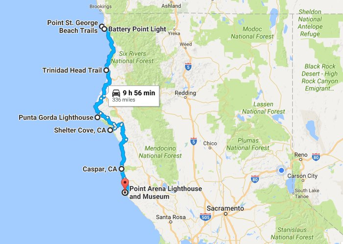 The Lighthouse Road Trip On The Northern California Coast