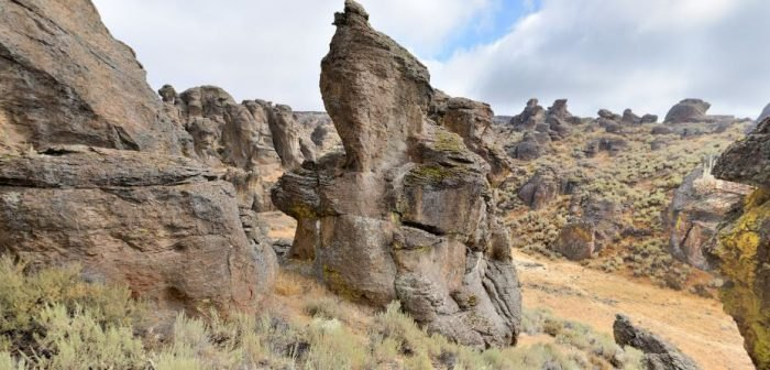Gooding Little City of Rocks - Idaho attraction