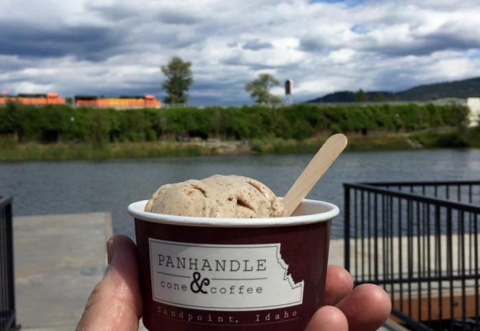 Best Homemade Ice Cream in Idaho - Panhandle Cone & Coffee, Sandpoint
