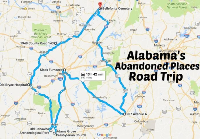 Take This Road Trip To Alabama's Most Abandoned Places