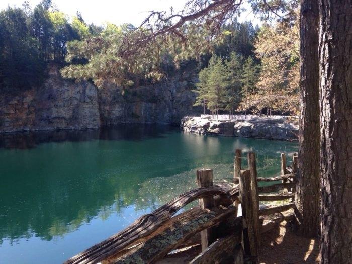 You Can Swim In The Granite Quarry Pool At Carrigan Farms In