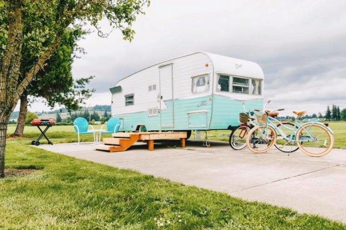 Vintage Trailer Resort >> The Unique Vintage Trailer Resort In Oregon