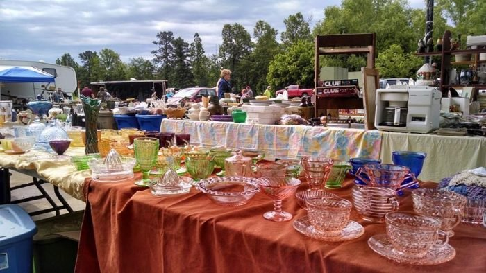 One Of The Country's Longest (And Best) Yard Sales Runs