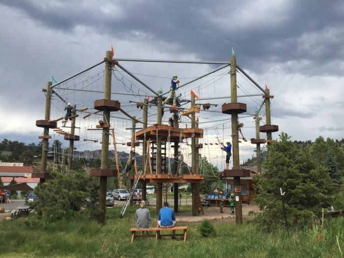 The Epic Canopy Course In Colorado That Will Bring Out The