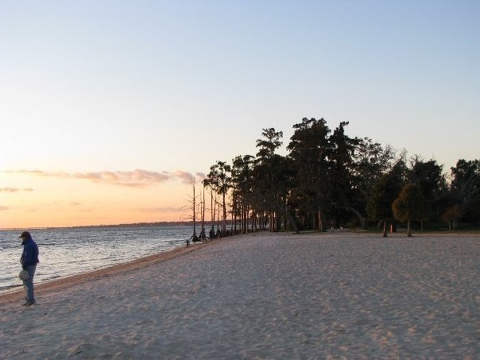 The Underrated Beach With The Whitest, Most Pristine Sand In Louisiana