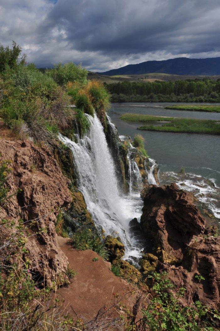 Fall Creek Falls: The Waterfall Swimming Hole In Idaho That
