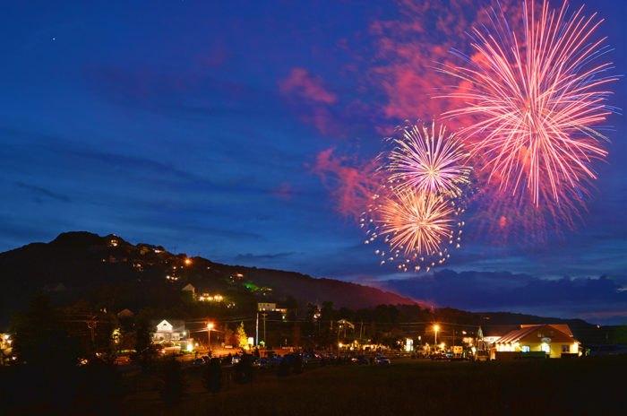 2017 Fourth of July Fireworks Shows North Carolina
