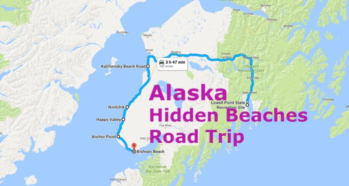The Hidden Beaches Road Trip That Will Show You The Best ... on show map of northern florida, lumberjack show ketchikan alaska, show map washington, show map of denver, show map of appalachian mountains, show map of district of columbia, show map of oahu hawaii, show map of south jersey, show map of omaha, large map alaska, show map of greenland, all water map in alaska, show map of south texas, us map alaska, show map of canada, show map of baltimore, show map of southwest florida, show map of charlotte, show map of miami, show map of calif,