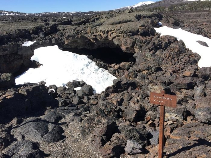 Craters of the Moon Cave Trail - Idaho