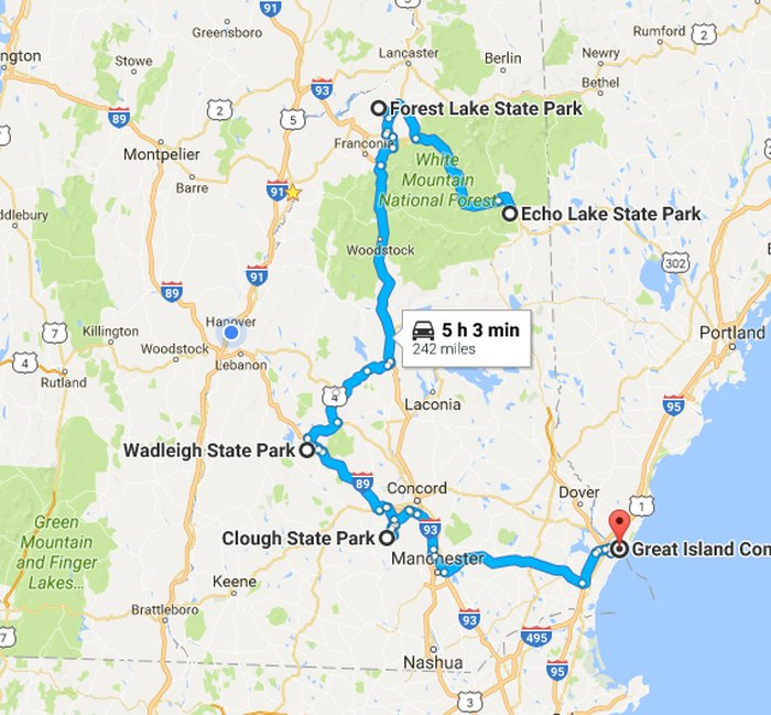 Take This Tour Of The Best Beaches In New Hampshire  State Road Trip Map on 48 states on a motorcycle, american road map, 48 states in 48 days, hands across america map, usa map, us travel map, us landmarks to visit driving map, 48 state motorcycle ride map, ky mammoth cave national park map, 48 states in 10 days route, large united states time zone map, louisville zip code map, all 48 states road map, 48 states list,