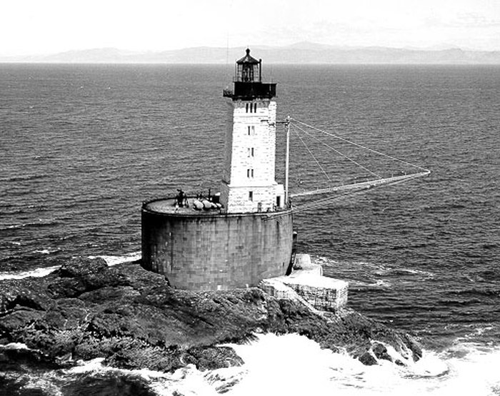 St  George Reef Is A Beautiful Abandoned Lighthouse In