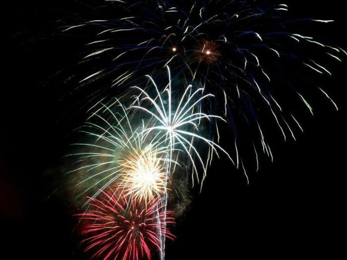 July Fireworks Shows In West Virginia